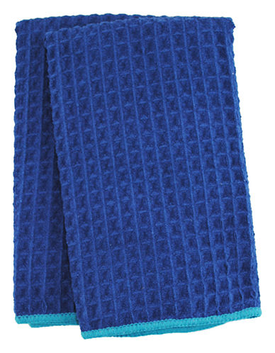 Jamie Oliver Set of 2 Microfiber Barmops-BLUE-16 x 19 Inches
