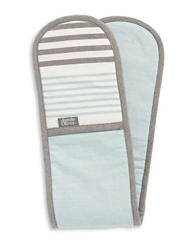 Jamie Oliver Premium Double Oven Glove-BLUE-One Size