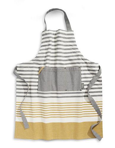 Jamie Oliver Striped Cotton Apron-YELLOW-One Size