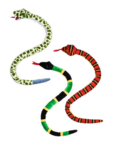 Ganz Slithers Snakes Plush Toy-MULTI-One Size