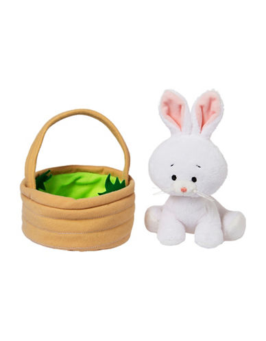 Ganz Bunny in Basket-NATURAL-One Size