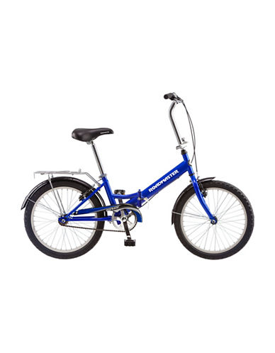 Roadmaster Roadmaster 20in Hinge Folding Bike-BLUE-One Size