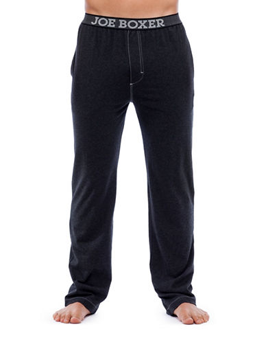 Joe Boxer Modern Fit Sleep Pants-BLACK-Medium