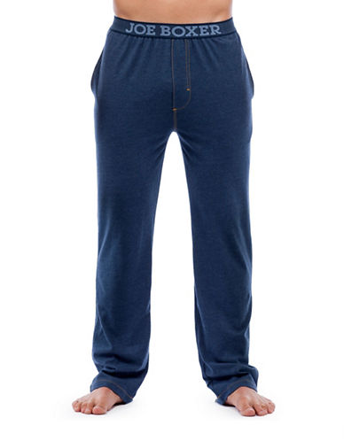 Joe Boxer Modern Fit Sleep Pants-NAVY-Small