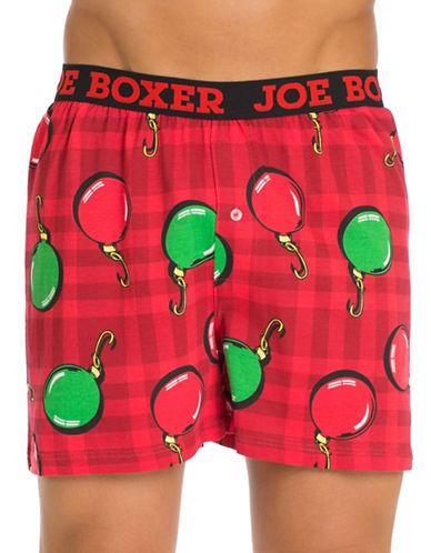 Joe Boxer Christmas Balls Loose Boxers-MULTI-Small