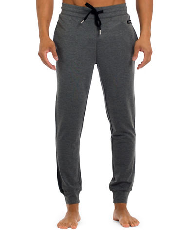 Joe Boxer Slim-Fit Jogger Pants-GREY-Large 88709680_GREY_Large