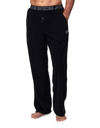 Joe Boxer Microfleece Pants-BLACK-Medium 88709659_BLACK_Medium