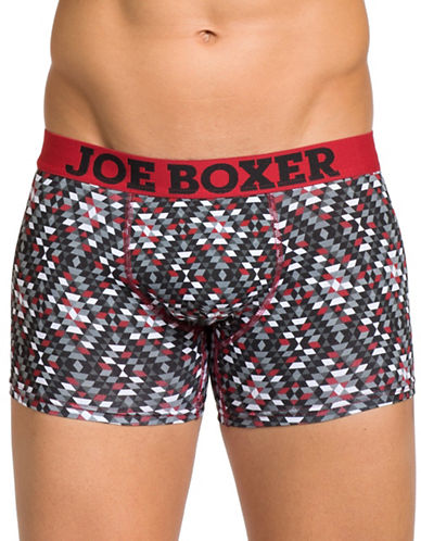 Joe Boxer Jagged Edge Two-Pack Fitted Boxers-MULTI-Medium