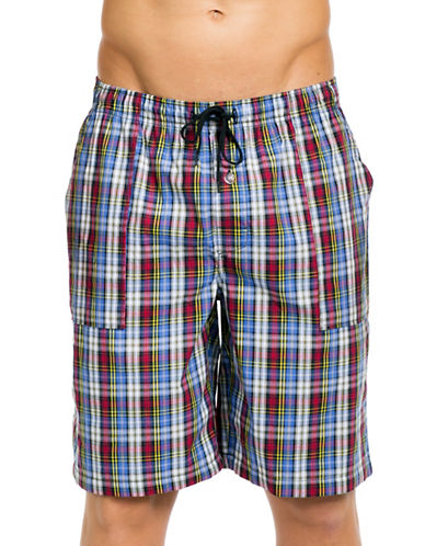 Joe Boxer Sunday School Poplin Shorts-SUN SCHOOL-Large