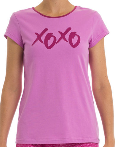 Joe Boxer Dear Sleep T-Shirt-PINK-Small