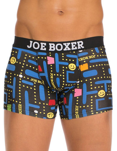 Joe Boxer Game On Fitted Boxers-MULTI-COLOURED-X-Large