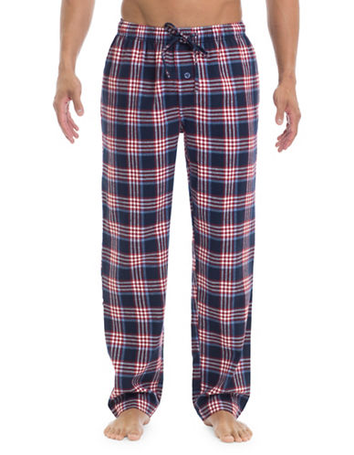 Ben Sherman Flannel Cotton Lounge Pants-MULTI-COLOURED-Medium