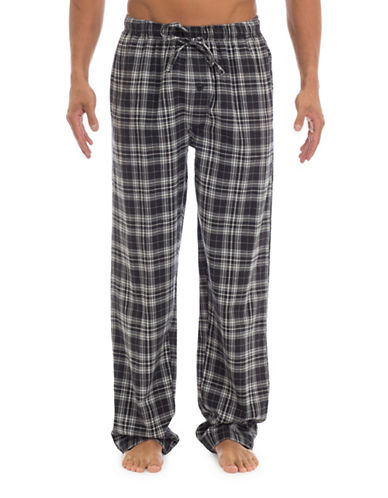 1670 Plaid Flannel Lounge Pants-MULTI-COLOURED-Medium