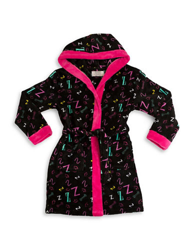 Joe Boxer Sleepy Dog Robe-MULTI-Medium