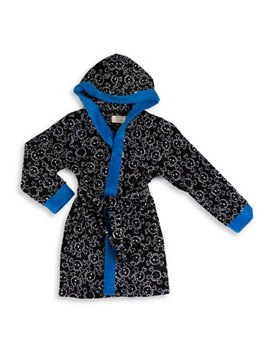 Joe Boxer Bad To The Bone Robe-MULTI-Large