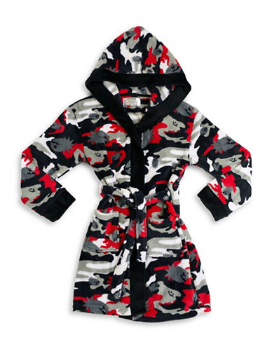 Joe Boxer Camouflage Robe-MULTI-XL