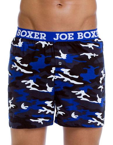 Joe Boxer Winter Blues Loose Boxers-MULTI-COLOURED-Small