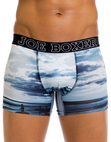 Joe Boxer Surfs Up Boxer Shorts-MULTI-COLOURED-Large