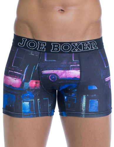Joe Boxer Open Mic Fitted Boxers-MULTI-COLOURED-Small