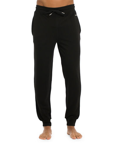 Joe Boxer Modern Jogger Pants-BLACK-Small