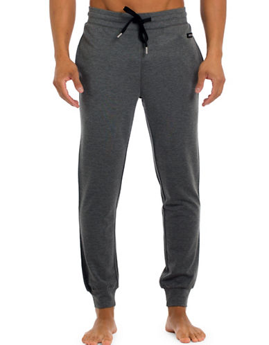 Joe Boxer Modern Jogger Pants-GREY-Small
