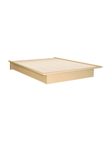 South Shore Step One Full Platform Bed-NATURAL MAPLE-Full