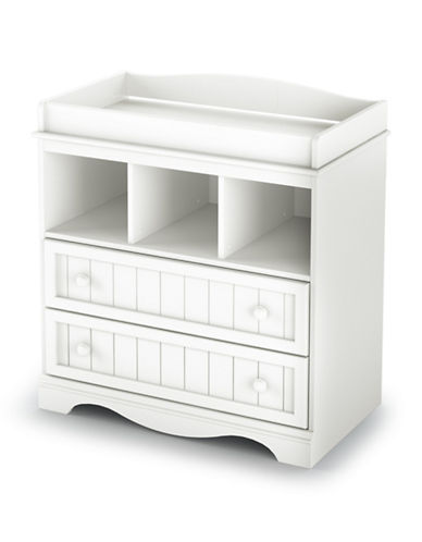 South Shore Savannah Changing Table-PURE WHITE-One Size
