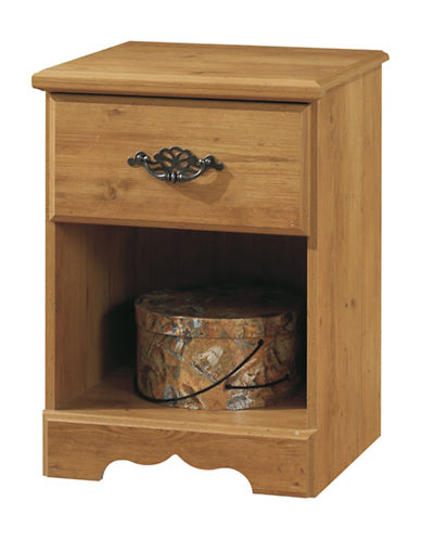 South Shore Prairie One-Drawer Nightstand-COUNTRY PINE-One Size