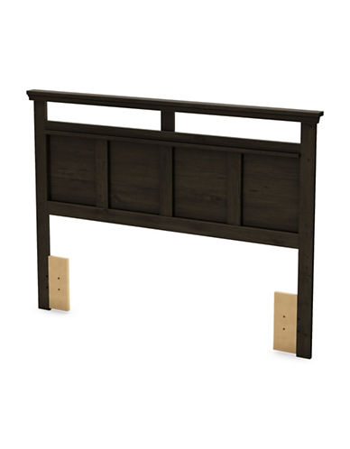South Shore Versa Full-Queen Headboard-EBONY-Double/Queen