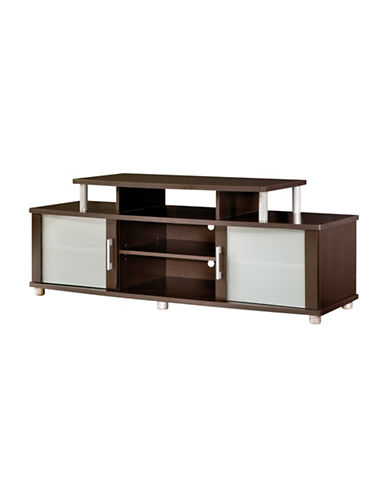 South Shore City Life TV Stand for TVs up to 50-Inch-CHOCOLATE-One Size