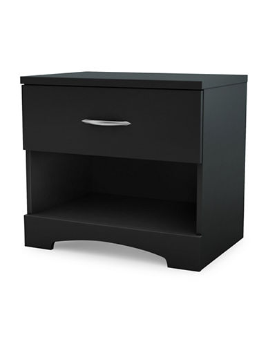 South Shore Noble Six-Drawer Double Dresser-PURE BLACK-One Size