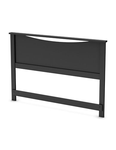 South Shore Step One Headboard-PURE BLACK-Double/Queen