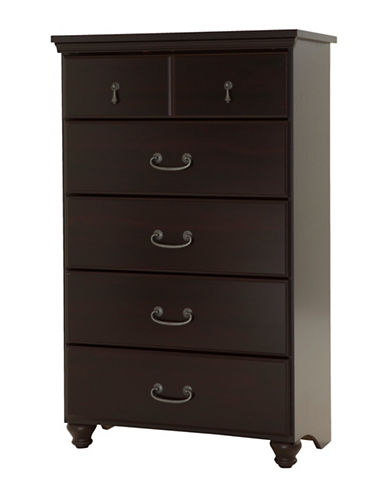 South Shore Noble Five-Drawer Chest-MAHOGANY-One Size