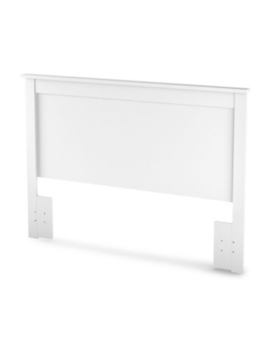 South Shore Vito Full/Queen Headboard-PURE WHITE-Double/Queen
