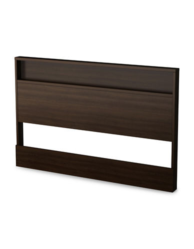 South Shore Holland Full-Queen Headboard-MOCHA-Double/Queen