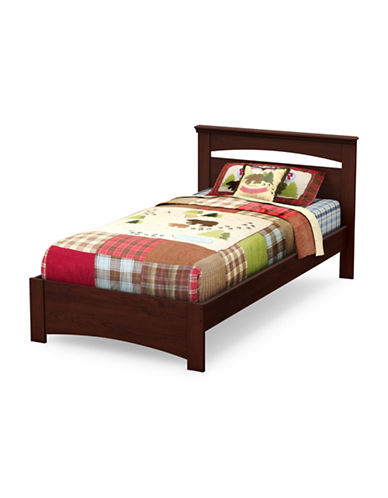 South Shore Sweet Morning Twin Bed Set-ROYAL CHERRY-Twin