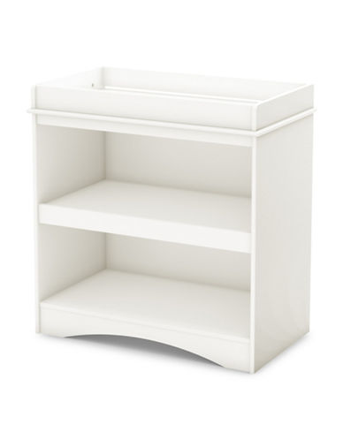 South Shore Peek-A-Boo Changing Table-PURE WHITE-One Size