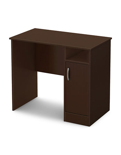 South Shore Axess Small Desk-CHOCOLATE-One Size
