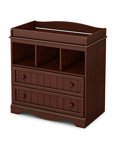 South Shore Savannah Changing Table-CHERRY-One Size