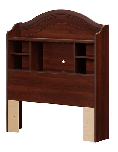 South Shore Summer Breeze Twin Bookcase Headboard-ROYAL CHERRY-Twin