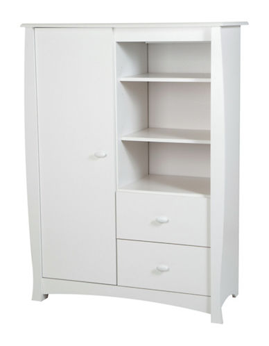 South Shore Beehive Armoire-PURE WHITE-One Size