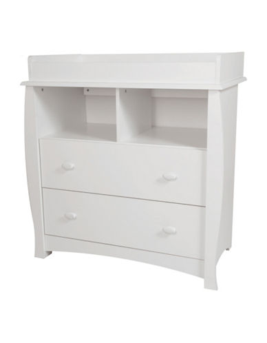 South Shore Beehive Changing Table-PURE WHITE-One Size