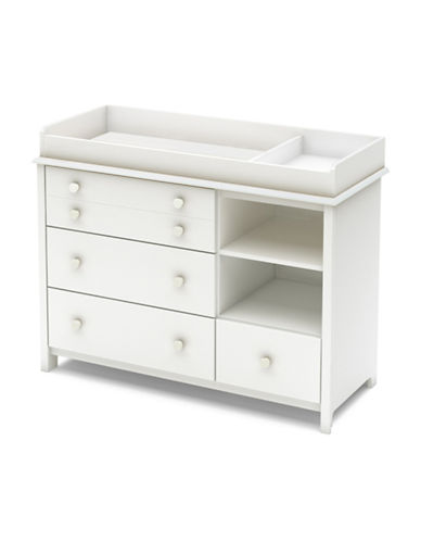 South Shore Little Smileys Changing Table-PURE WHITE-One Size