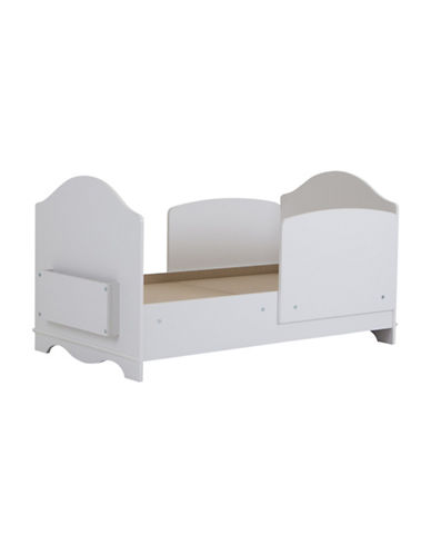 South Shore Savannah Toddler Bed-PURE WHITE-One Size