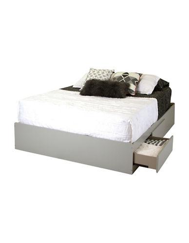 South Shore Vito Queen Mates Bed-SOFT GREY-Queen