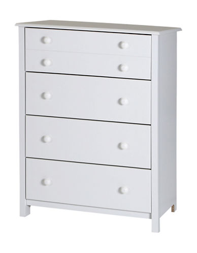 South Shore Little Smileys Four-Drawer Chest-PURE WHITE-One Size