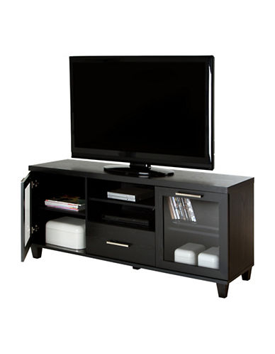 South Shore Adrian TV Stand-BLACK OAK-One Size