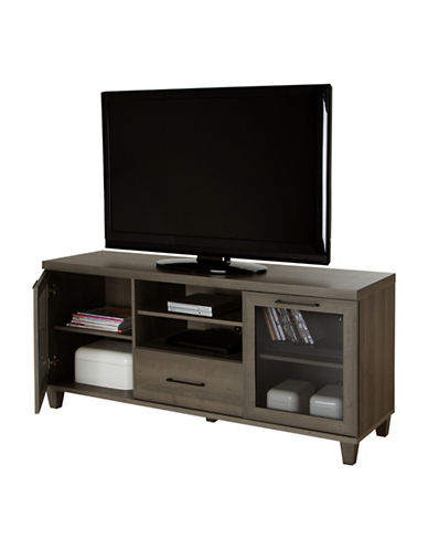 South Shore Adrian TV Stand-GREY-One Size