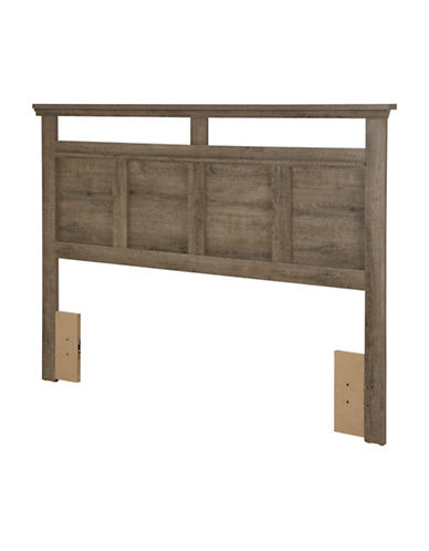 South Shore Versa Full-Queen Headboard-BROWN OAK-Double/Queen