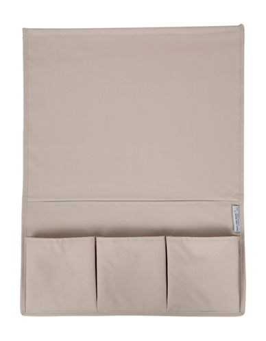 South Shore Storit Canvas Bedside Storage Caddy-BEIGE-One Size